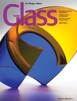 The cover of GLASS 129, Winter 2012-13